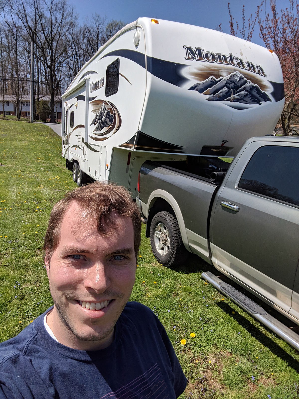 Will after towing the RV